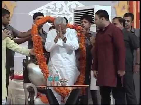 Shri Nitish Kumar, Hon'ble Chief Minister, Bihar at 456th Prabhu kripa Samagam at Patna on 5 June 16