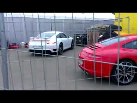 New Porsche 911 Turbo S (991) - Uncovering