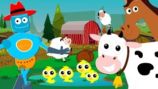 old macdonald had a farm | animal sounds song | nursery rhymes | baby songs | kids tv