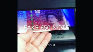 #Fake #£50 #note #in #Bournemouth #and in #England #UK 🇬🇧