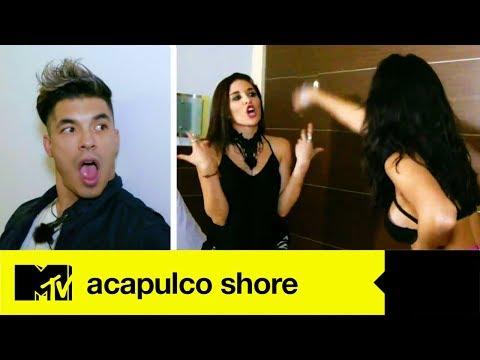 Mane Y Gaby Pelean Por El Afecto De Jawy | Acapulco Shore 4