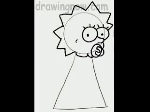 Maggie Simpson Drawings Learn to Draw Maggie From The