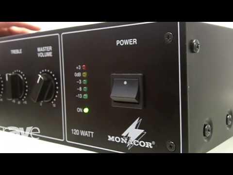 ISE 2017: Monacor International Presents PA-900 Amplifier