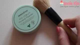 Видео - Innisfree - No sebum mineral powder