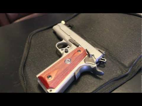 ruger 1911 commander review and unboxing
