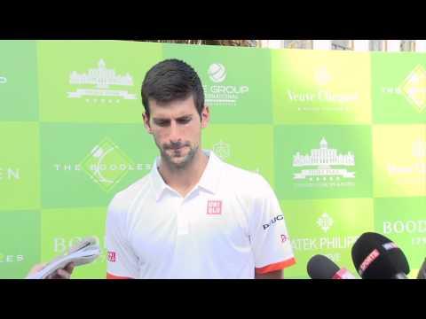 Wimbledon 2015: Novak Djokovic claims Boris Becker has made him a better grass court player