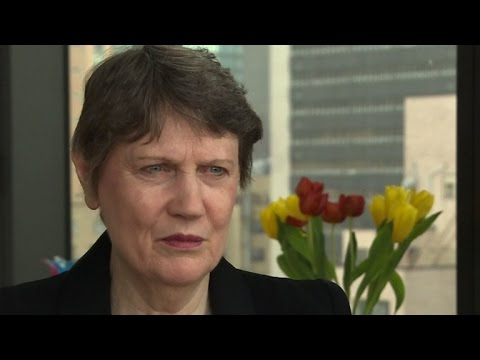 New Zealand's Helen Clark enters race to lead UN
