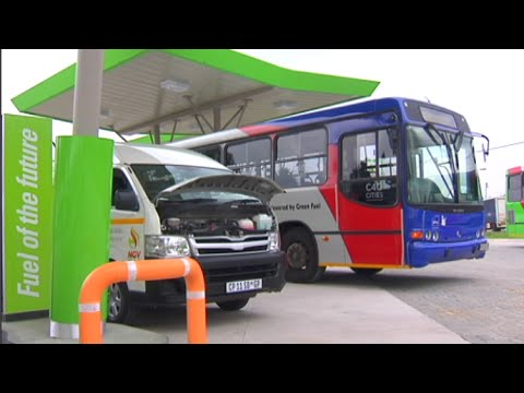 SA's first compressed natural gas filling station
