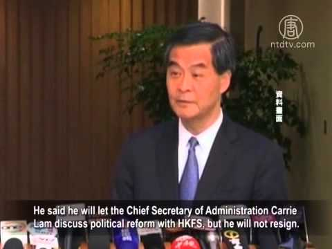 Stalemate in Hong Kong as Leung Chun-ying Refused to Resign