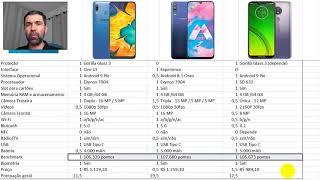Samsung Galaxy A30, Galaxy M30 e Motorola Moto G7 Power - Qual escolher?