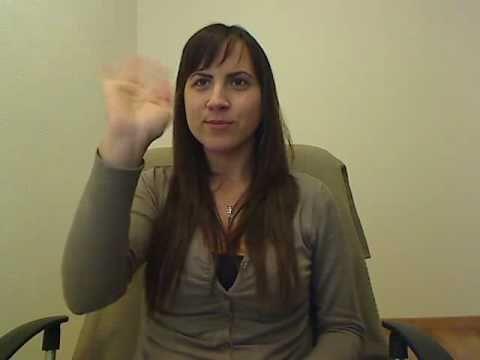 Presentación en Lengua de signos