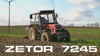 Zetor is Back !! - Zimowa Orka 2015 - Zetor 7245
