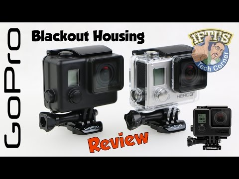 GoPro Blackout Housing - Stealth non-reflective Housing! - REVIEW