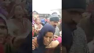 Kashmir Terrorist Attack- Shaheed wife said 'Armi kill my husband, not Mujahid'