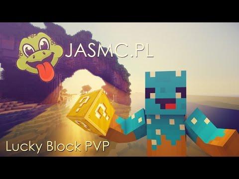 JA PVP NIE UMIEĆ? |♦Lucky Block PVP♦| ♦Jasmc.pl♦ |