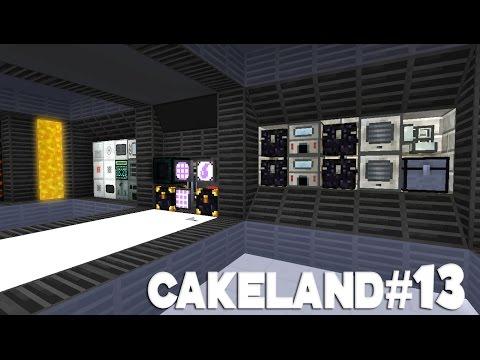 CakeLand FTB #13: Тотальный Редизайн и Апгрейд главной базы!