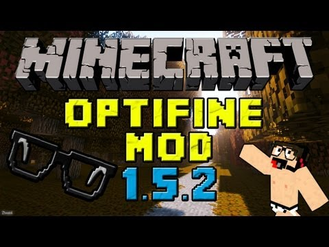 Minecraft mods: Como Instalar y Descargar Optifine Mod para Minecraft 1.5.2