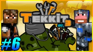 Tekkit Pt.6 |I Like Gold LLC.| visit the Nether
