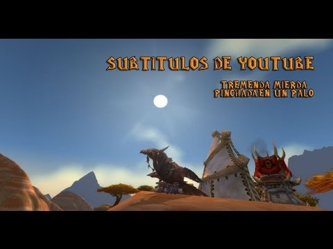 GRACIAS YOUTUBE! GRANDES SUBTITULOS | Wow Mists of Pandaria - BG