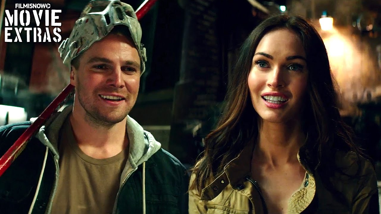 Teenage Mutant Ninja Turtles: Out of the Shadows 'Megan Fox & Stephen Amell' Featurette (2016)