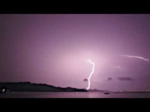 Flash bang wallop Hong Kong lightning storm 10 July 2016