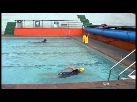 Cold water swimming at portishead open air pool saturday - Open air swimming pool portishead ...