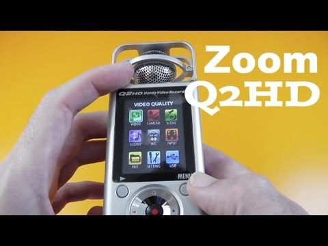 Zoom Q2HD Unboxing & Product Tour