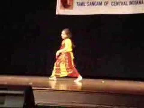 Nannare Dance By Shraddha - Tamil Program video