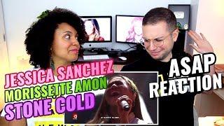 Jessica Sanchez & Morissette Amon - Stone Cold | ASAP | REACTION