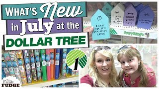 NEW at THE DOLLAR TREE in JULY || School Supplies ALREADY??