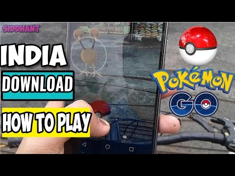 Pokémon Go - How to Download And Play in India! Pokémon Hunting!