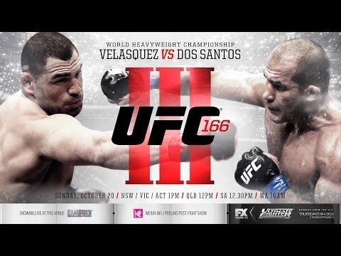 UFC 166 Dos Santos, best lesson for him!