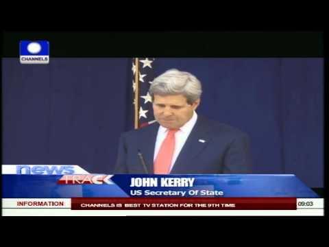 John Kerry Meets President Jonathan, General Buhari
