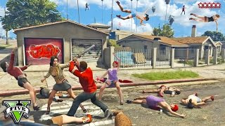 GTA 5 Online IT'S RAINING HOOKERS!!   Angry Hookers Fall From The Sky   GTA 5 Funny Moments PS4