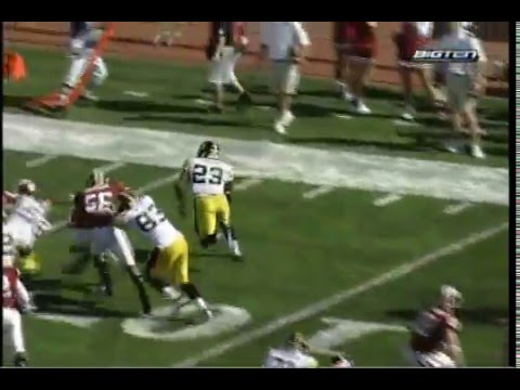 Iowa Hawkeye Shonn Greene 2008 Highlight Video 3 Video