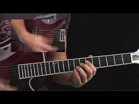 Guitar Lessons - Jazz Combustion - Andreas Oberg - Fast Bebop Comping 3