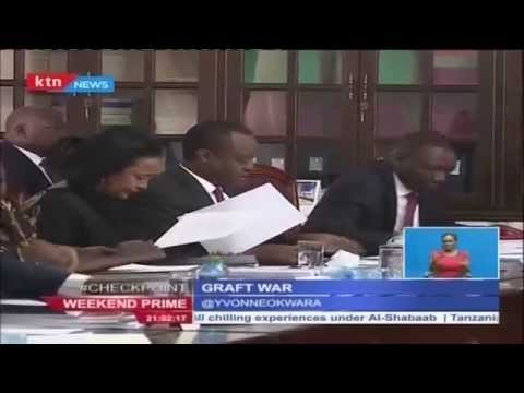 President Uhuru yet to receive ammendment bill seeking to change EACC Commissioners