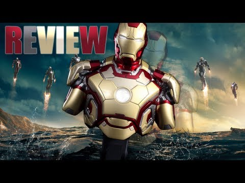 Review  bust Iron Man 3 Mark XLII (42) - Hot Toys