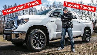 """逆輸入アメ車な日本車のトヨタ タンドラを日本で初めて乗ってみた!BUBU MITSUOKA Driving the """"All American"""" Toyota Tundra - In Japan!"""