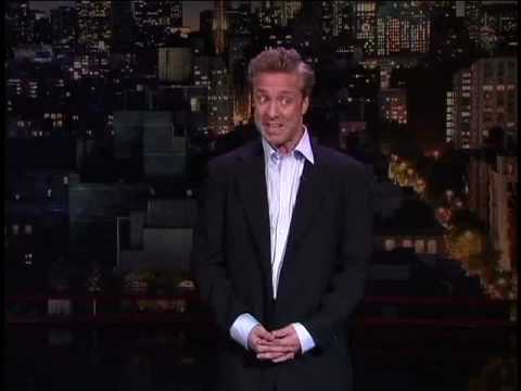 Nick Griffin On The Late Show with David Letterman 7/8/2008