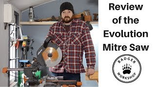 Evolution 255mm Mitre Saw