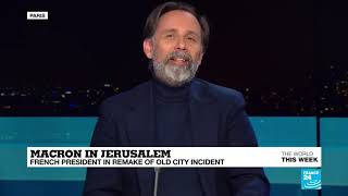 'Macron's altercation in Jerusalem was pure political communication'