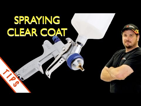 How To Spray Clear Coat on Car -  Eastwood Mustang Project