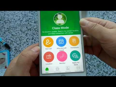 GPS TRACKER AMT Student ID Card MT300S operation Instruction Mobile APP OtusVcare