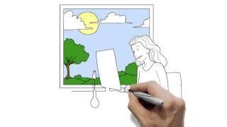 Doodle Video produced for iAdControl (web design agency) by Cartoon Media - Doodle Video Production