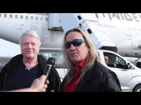 Iron Maiden Touches Down In Auckland
