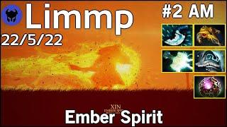 Limmp [coL] plays Ember Spirit!!! Dota 2 7.21