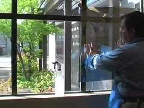 How To Apply Window Film Youtube