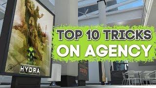 Top 10 Tricks on AGENCY CSGO