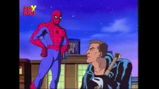 Spiderman the Animated Series - Blade vs Morbius